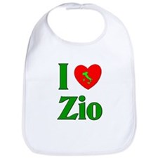 I Love (heart) Zio Bib