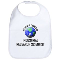 World's Coolest INDUSTRIAL RESEARCH SCIENTIST Bib