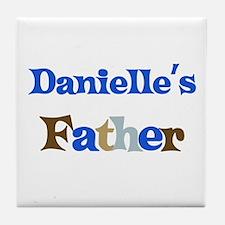 Danielle's Father Tile Coaster