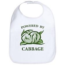 Powered By Cabbage Bib