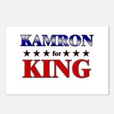 KAMRON for king Postcards (Package of 8)