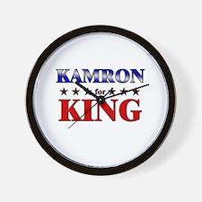 KAMRON for king Wall Clock
