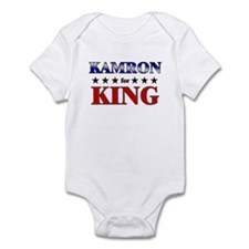 KAMRON for king Infant Bodysuit