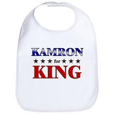 KAMRON for king Bib