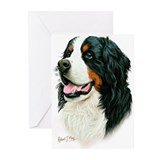Bernese mountain dog mom Greeting Cards (10 Pack)