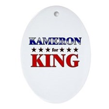 KAMERON for king Oval Ornament