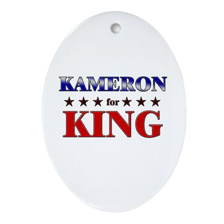 KAMERON for king Oval Ornament