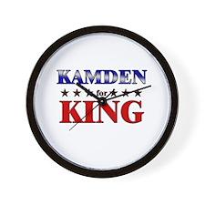 KAMDEN for king Wall Clock
