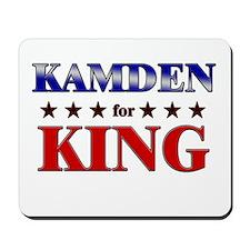 KAMDEN for king Mousepad