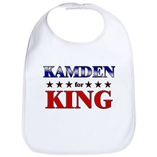 KAMDEN for king Bib