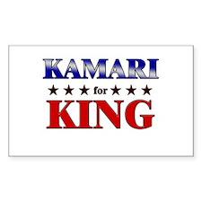 KAMARI for king Rectangle Decal