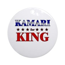 KAMARI for king Ornament (Round)