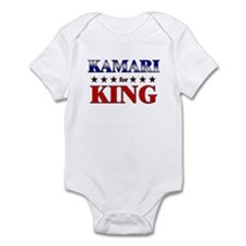 KAMARI for king Infant Bodysuit