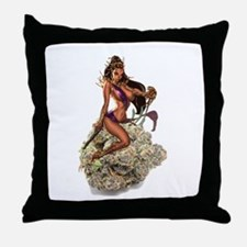THIN MINT COOKIES QUEEN MARY JANE Throw Pillow
