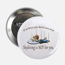 "Skydiving 2.25"" Button"