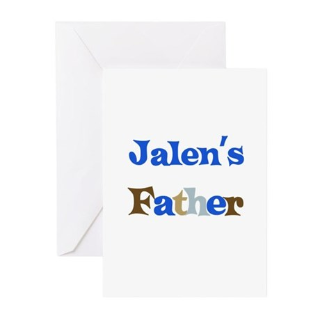 Jalen's Father Greeting Cards (Pk of 10)