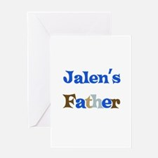 Jalen's Father Greeting Card