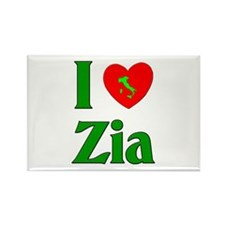 I (heart) Love Zia Rectangle Magnet