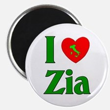 I (heart) Love Zia Magnet