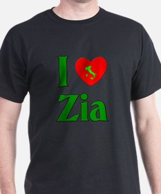 I (heart) Love Zia T-Shirt