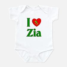 I (heart) Love Zia Onesie