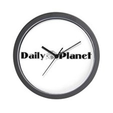 Daily Planet Wall Clock