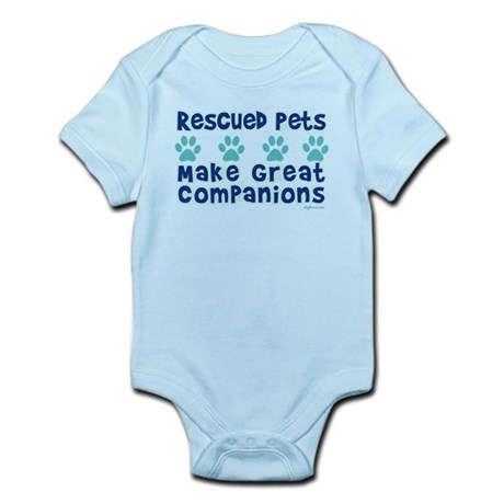 Rescued Pet Companions Infant Bodysuit