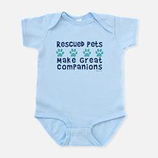 Rescued Pet Companions Infant Bodysuit