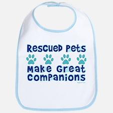 Rescued Pet Companions Bib