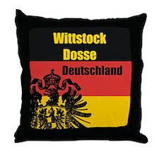 Wittstock-Dosse Deutschland  Throw Pillow