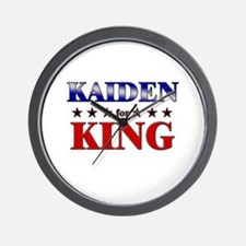 KAIDEN for king Wall Clock
