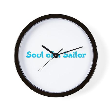 Soul of a Sailor Wall Clock