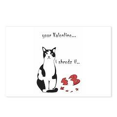 LOL cat Shredz it.. Postcards (Package of 8)