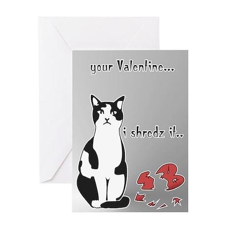LOL cat Shredz it.. Greeting Card