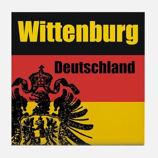 Wittenburg Deutschland  Tile Coaster
