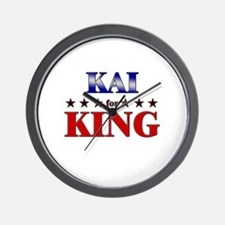 KAI for king Wall Clock