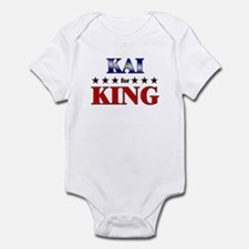 KAI for king Infant Bodysuit