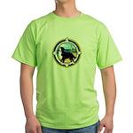 NCBMDCO LOGO Green T-Shirt