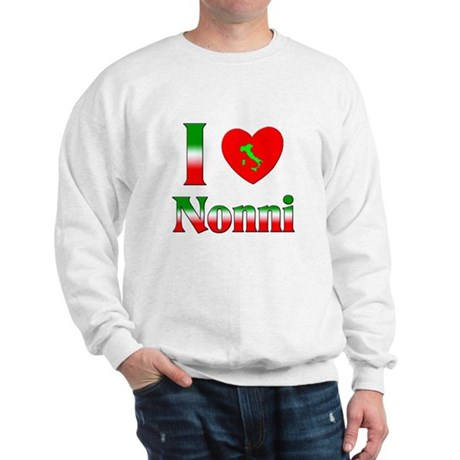 I Love (heart) Nonni Sweatshirt