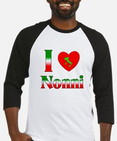 I Love (heart) Nonni Baseball Jersey