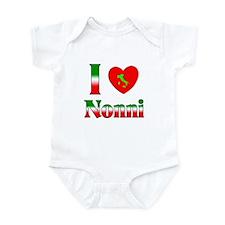 I Love (heart) Nonni Infant Bodysuit
