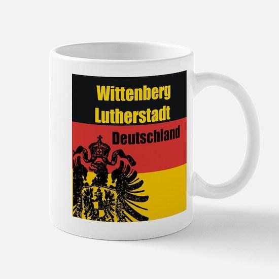 Wittenberg Lutherstadt Deutsc Mug
