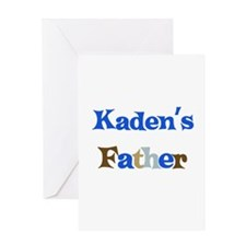 Kaden's Father Greeting Card