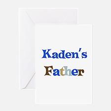Kaden's Father Greeting Card