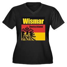 Wismar Deutschland  Women's Plus Size V-Neck Dark