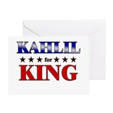 KAHLIL for king Greeting Card