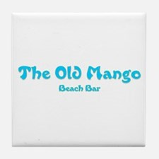 The Old Mango Tile Coaster