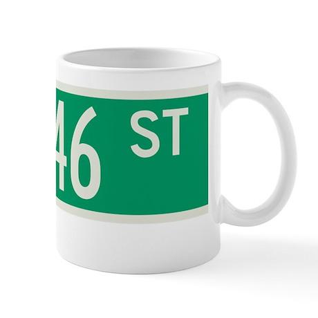 46th Street in NY Mug