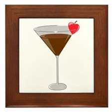 Chocolatetini Framed Tile