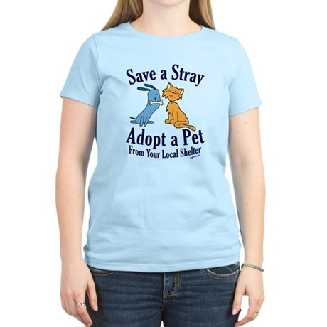 Save a Stray Women's Light T-Shirt